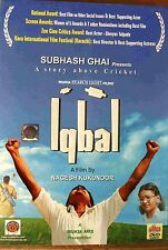 Iqbal - Nagesh Kukunoor Film - Official Bollywood Movie DVD ALL/0