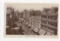 High Street Cardiff Vintage RP Postcard  227a