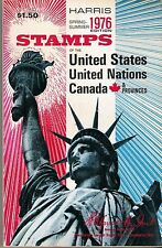 HARRIS 1976 STAMPS OF THE UNITED STATES UNITED NATIONS CANADA & PROVINCES