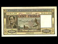 Belgium:P-126,100 Francs,1948 * King Leopold I *
