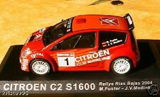 CITROEN C2 S1600 RALLYE RIAS BAJAS 2004 1/43 FUSTER NEW