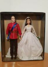 Barbie William and Catherine Royal Wedding gold label collection doll