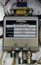 Loral/Narda 24 VDC SMA RF Coaxial Switch SPDT TTL, DC-1 GHz 9026-A134-A3C-0C0
