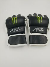 New MONSTER ENERGY MMA Gloves - UFC Daniel Cormier  autographed signed