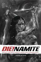 Die!Namite #3 1:45 Parrillo C B/&W Virgin Variant Dynamite VF//NM Comics Book