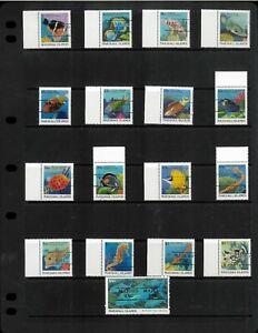 "Marshall islands 168-184 ""Majuro"" Precancels VF MNH. Elusive. Cat ? Net 140.00"