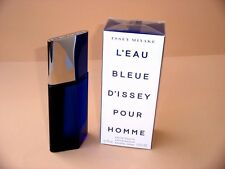 L'EAU BLEUE D'ISSEY POUR HOMME  ISSEY MIYAKE  EDT 75ml SPRAY NEUF