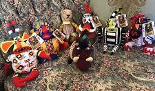 NEW DISNEY LION KING STAGE SHOW BEAN BAG Plush Lot 7 Tricksters Nala Pumba #E4