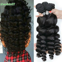 1/3/4Bundles Loose Wave Virgin Brazilian Hair Weave human Hair Extensions Weft