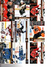 2012-13 Upper Deck Complete your base set hundreds of 5/$1 lots avail. #1-200.
