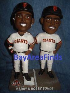 San Francisco Giants 2018 Barry Bonds & Bobby Bonds Bobblehead SGA 7/9 bobble