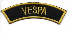 VESPA Shoulder Flash Patch - Embroidered - Iron or Sew On