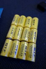ARLO 12 x rechargeable batteries (3 sets) + charger NEW 2500mAh Netgear