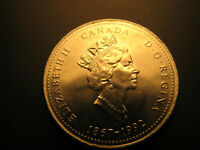 Canada 1992 Yukon Territory Commemorative 25 Cent Mint Coin.