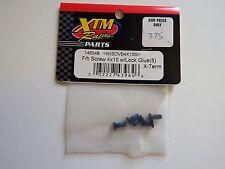 XTM Racing Parts - F/h Screw 4x10 w/ Lock Glue (5) X-Term- Model # 148548 -Box 2