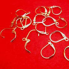 20P Lever Back Earring Findings 18K GOLD GP 0083 French ear clip Ear Wire Sale