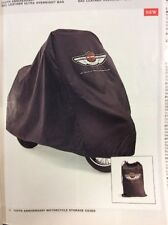 HARLEY DAVIDSON 100th ANNIVERSARY Motorcycle Storage Cover