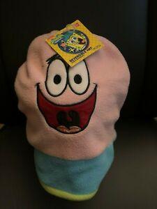 NWT Spongebob Squarepants Patrick Star Reversible Knit Beanie Hat