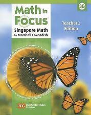 NEW - Math in Focus: Teacher's Edition, Book B Grade 3 2009