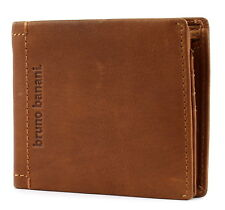 Bruno Banani arizona Wallet transversales with flap monedero cognac marrón NUEVO