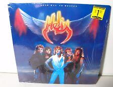 HELIX Long Way To Heaven LP 1985 Capitol Hair Metal/Hard Rock FREE SHIP!