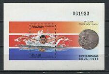37356) Panama 1989 MNH Olympic G. Seoul S/S Scott #760