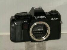 Minolta X - 300s Vintage SLR Camera Body