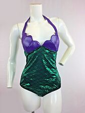 Sexy Ariel Mermaid Romper Costume Purple Green Sizes S - M