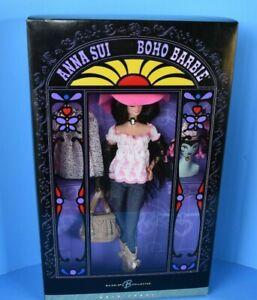 Mattel Gold Label Anna Sui Boho Barbie Collector Doll #J8514 RARE NRFB