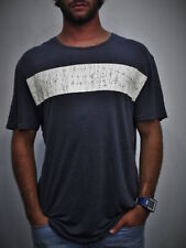 Linen Short Sleeve Crew Neck Basic T-Shirts for Men