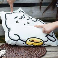 Neko Atsume New Collector Darake Zukan Tubbs Pillow Cushion Plush Doll Kids Gift