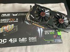 ASUS NVIDIA GeForce GTX 970 STRIX 4GB Grafikkarte (OC Edition)