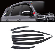 Smoke Visor Window Rain Vent Sun Guard 6p For 2016 2017 2018 Kia Sorento