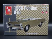 1965 65 PONTIAC GTO CONVERTIBLE AMT 1:25 SCALE SEALED PLASTIC MODEL KIT SKILL 2