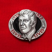 NEW ELVIS PRESLEY Colorized Metal Belt Buckle from Buckles of America