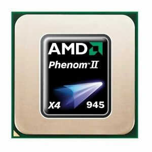 AMD Phenom II X4 945 (4x 3.00GHz) HDX945FBK4DGI CPU Sockel AM2+ AM3   #33844