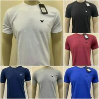 Armani Jeans Crew Neck Short Sleeve T-Shirt for Men on Sale !!!