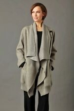 OSKA Sukana BOILED 100% Virgin WOOL Lagenlook Oversized Coat/ Jacket , 12 /14-16
