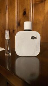 Lacoste L.12.12 Blanc Eau de Parfum And Sample