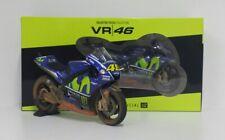 V.rossi Yamaha Yzr-m1 Sporco Versione #46 MotoGP Malaysia 2017 1 12 Minichamps