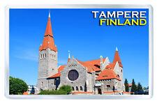 TAMPERE FINLAND FRIDGE MAGNET SOUVENIR IMAN NEVERA