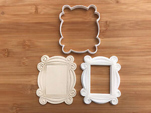 Friends - Monica's Peephole Door Frame Cookie Cutter and Stamp Set 3 - 4 -5 INCH