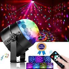 Faro sfera led rgb luce strobo da discoteca lampada telecomando effetti luci par
