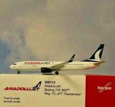 Herpa Wings 1:500  Boeing 737-800  AnadoluJet  TC-JFT  535113  Modellairport500