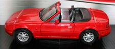 MotorMax 1/24 Scale Metal Model 73262 - Mazda MX5 Miata 1st Gen - red