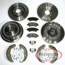 Peugeot 207 - Bremsscheiben Bremsen Set vorne Bremstrommel Satz Zubehör hinten*