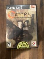 Contra: Shattered Soldier (Sony PlayStation 2, 2002) PS2 Complete