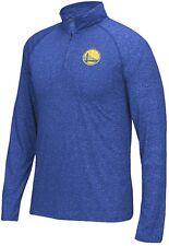 Golden State Warriors adidas 1/4 Zip Jumper Wind Long Sleeve Shirt Ultimate Tee