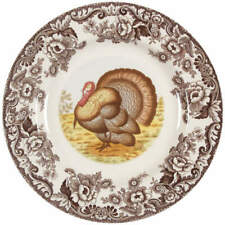 Spode WOODLAND Turkey Dinner Plate 4579828