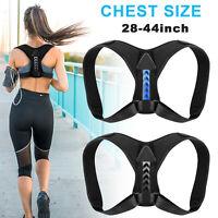 Posture Corrector Support Back Shoulder Brace Belt Adjustable For Men Women Kids